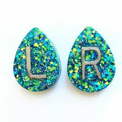 Pair Radiography X Ray Markers, Glitter X Ray Markers.