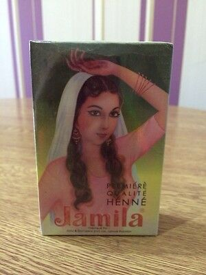 1x100g Jamila Henna Powder Body Art Quality Crop 2017 Mehandi Powder Uk Seller