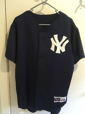 New York Yankee MLB Replica Jersey Swingman Mesh Baseball XL - Navy Colour