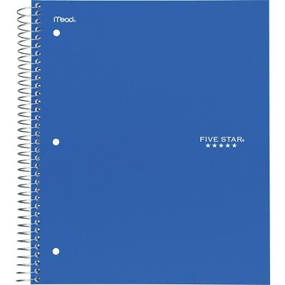 Five Star Wirebound 1-subject Notebook - Printed - Wire Bound - Wide Ruled -...