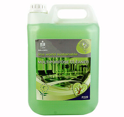 Selden F229 Multi Purpose Eco Friendly Cleaner - 5 Litre Bottle