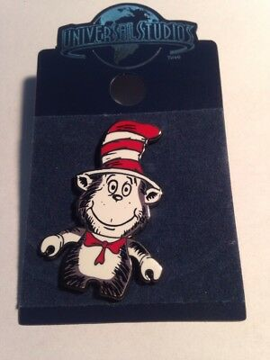 Universal Studios Cat In The Hat Dr Seuss NEW! Trading Pin