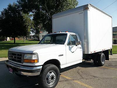 1997 Ford F450, 7.3L Powerstroke, 5 Speed Manual, Only 51K Miles, No Reserve
