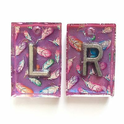 Pair Radiography X Ray Markers, Glitter X Ray Markers Add Initials Or Numbers
