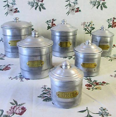 Canisters kitchenware kitchen home collectibles for Kitchen set name