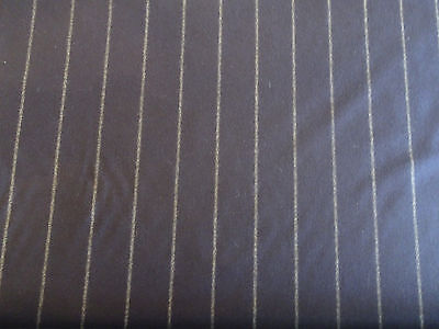"Holland and Sherry Fabric ""Dashing Stripe"" in Andalusian Blue 10 Yards+"