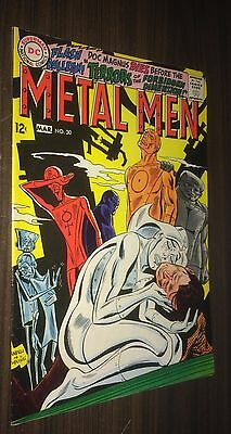 METAL MEN #30 -- March 1968 -- VF- Or Better