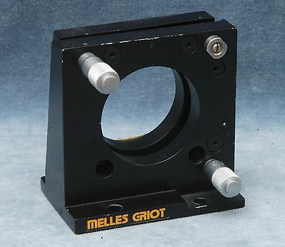 "Melles Griot 2.25"" Gimbal Mirror Mount For Optical Bench"