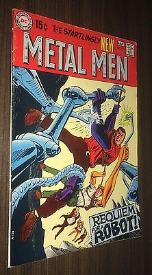 METAL MEN #41 -- January 1970 -- VG Or Better