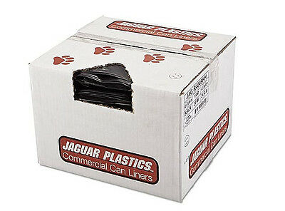 Industrial Strength Commercial Garbage Can Liner, 40-45 gal, Black, (100 count)