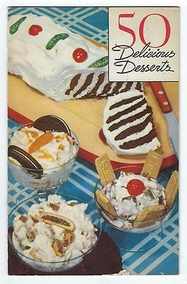 NABISCO National Biscuit Company's BOOK OF FIFTY 50 DELICIOUS DESSERTS