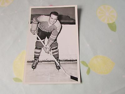 Original Unidentified Harringay RACERS 1950's Ice Hockey Player Photo no 2