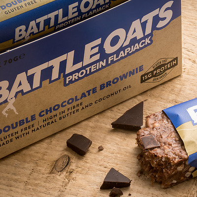 Battle Oats Recovery Bar Protein Flapjack 70g