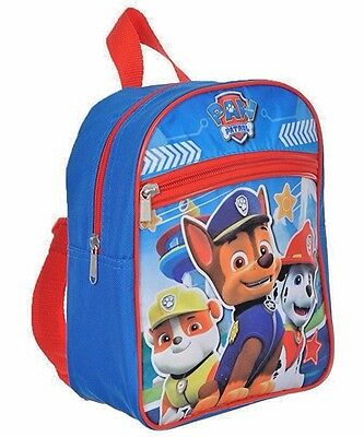 "NEW Paw Patrol Boys 10""- 11 "" Mini Backpack School bag"