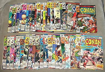 CONAN THE BARBARIAN Lot #49-108 + Annuals More 44 Issues Marvel Bronze Age 1975
