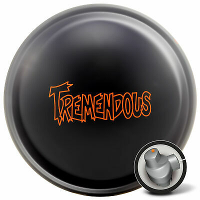 Bowling Ball Radical Tremendous Black Solid 12-16 lbs High Performance Reactive