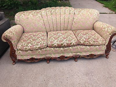 Very Special Antique Couch  /Sofa, Beautiful Colors, In Wonderful Shape