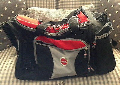 Vintage Large Coke Duffel Bag ~ Excellent Condition
