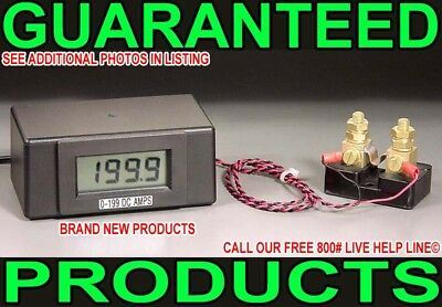 New 0-199 Amp Digital Dc Copper Nickle Chrome Gold Electro Plating Current Meter