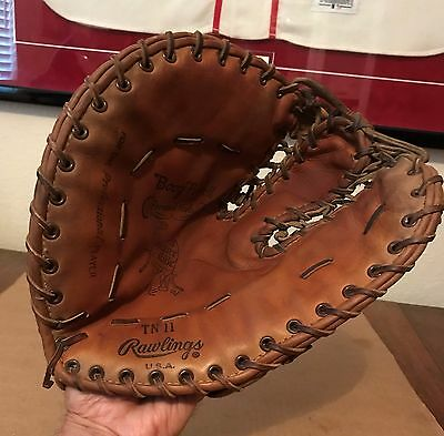 Boog Powell Rawling Heart Of The Hide Personal Model First Base Mitt
