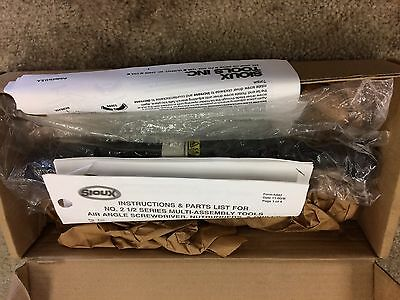 "Sioux Tools 2 1/2 Series Air Angle Nutrunner 2A2152B 3/8"" Drive"