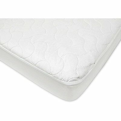 Waterproof Mattress Pads Fitted Crib And Toddler Protective Mattress Pad Cover,