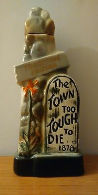 Collectable Jim Beam Limited Edition Tombestone Bottle James R Beam Original