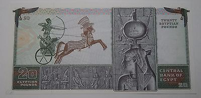 1978 EGYPT 20 Pound Note CU See Pics 2201