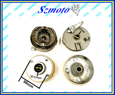 The 4 stud left and right drum brake for the 125cc -350cc ATV gokart pair dmk4