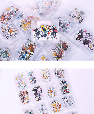Assorted Cute Japanese Zakka Style Paper Sticker Bag Sealer DIY Scrapbook Diary
