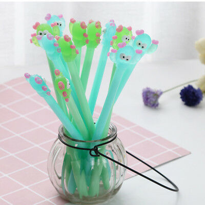 Cactus Gel Pen Novelty Ballpoint Pencil School Office Supply Student Stationery
