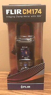 The FLIR CM174 Clamp Meter with Built-In Thermal Imager
