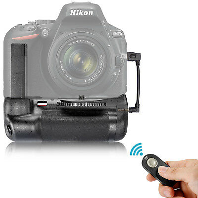 Neewer Battery Grip Infrared Remote Control Vertical for Nikon D5500 DSLR Camera