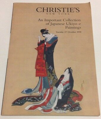 CHRISTIE'S An Important Collection of Japanese Ukiyo-e Paintings Collection 1998