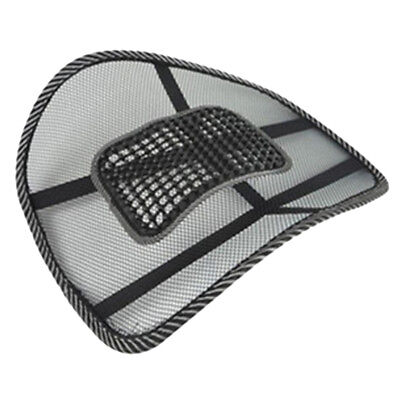 Mesh Lumbar Lower Back Support Cushion Pain Relief Car Seat Posture Correct 1PC