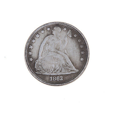 1862 US The Statue of Liberty Commemorative Coins Old Mexican Old Coin