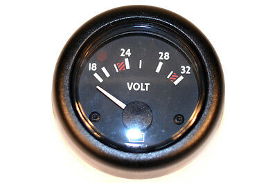 Volvo Penta 02410912 Voltage Meter 18 to 32 Volt