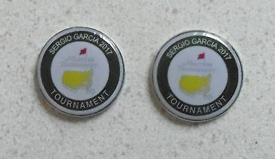 2 Only U.S. MASTERS 2017 SERGIO GARCIA  GOLF BALL MARKERS A Tribute to his Win