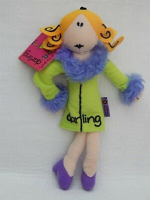 Bang On The Door 'darling' Collectable Beanie Soft Toy, Golden Bear Ltd 1999