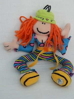 Bang On The Door 'funky Girl' Collectable Beanie Soft Toy, Golden Bear Ltd 1999