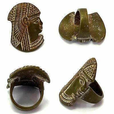 Very Old Antique Wonderful Old Bronze Ring