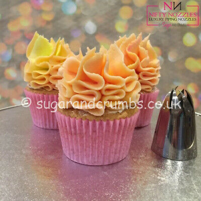 Original Sugar and Crumbs Nifty Nozzle - Mrs Whippy, Spritztülle aus Edelstahl