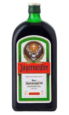 Jagermeister German Herbal Liqueur Spirit 1 Litre