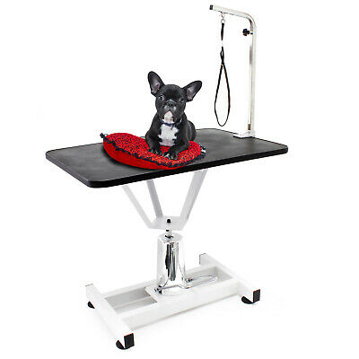 Table de toilettage Réglable en hauteur Table de soins Chien Chat Grooming Table