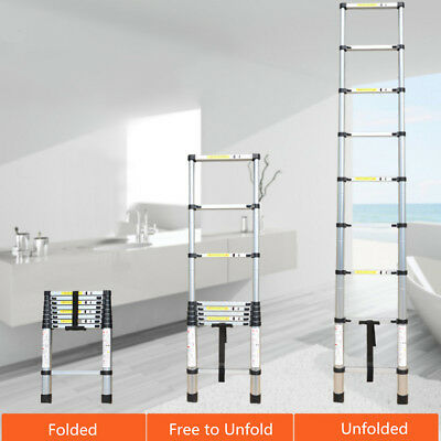 2m-2.6m Multipurpose Telescopic ExtendableAluminium Alloy Ladder Extension
