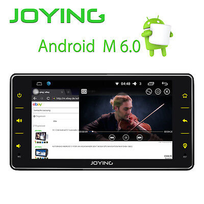 "Android 6.2""Autoradio Mit Gps Navigation Navi Bluetooth Touchscreen Single 1Din"