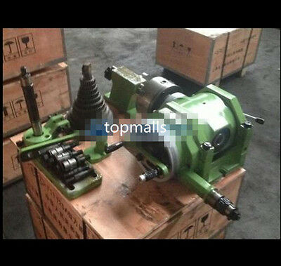 F11-100A Universal dividing head+3-jaw chuck and MT3 taper