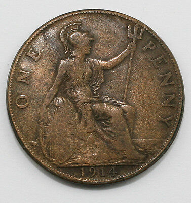 1914 / 1921 Double Sided Penny - Very Unusual (LZ128)