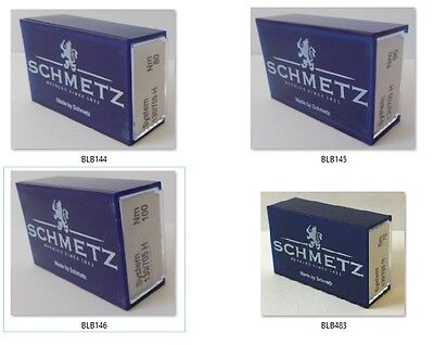 Schmetz Sewing Machine Needles Universal 130x705H Box of 100 Sizes 70 80 90 100