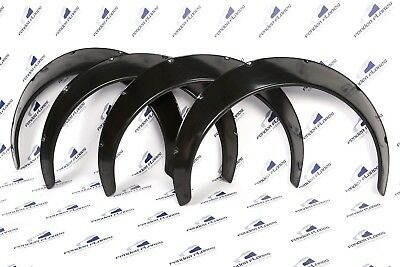 "UNIVERSAL Fender Flares JDM Wheel arches SET 3.9"" wide 4 pieces"